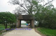 duong lam ancient village entrance gate