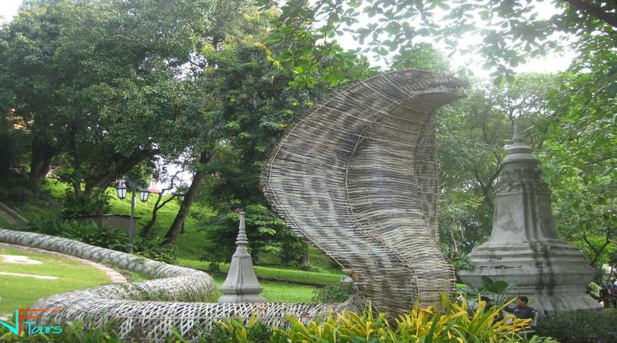snake symbol in cambodia