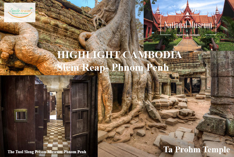 5D4N Tour in Phnom Penh- Siem Reap