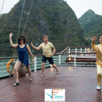 tai chi on orchid cruise
