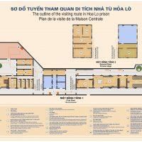hoa lo prison map