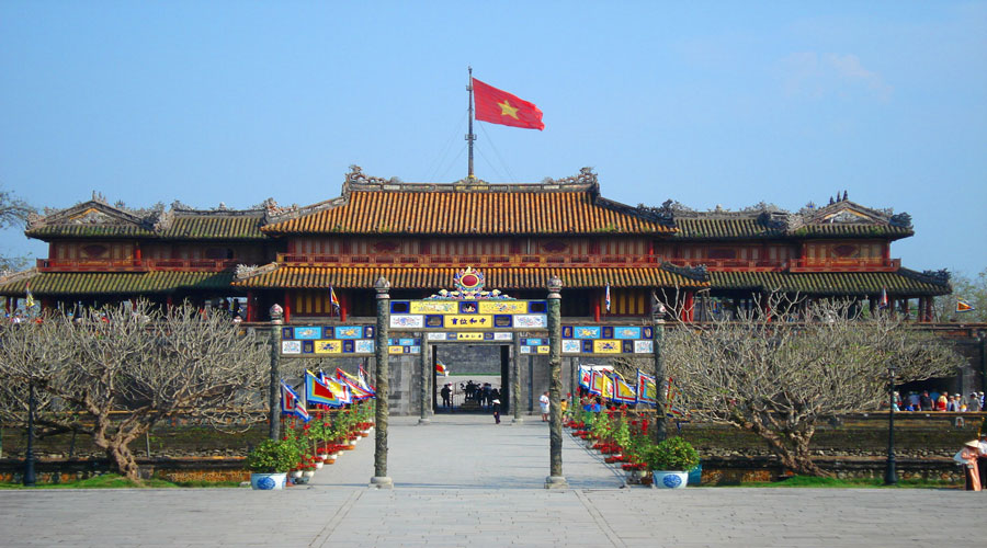 hue citadel of vietnam
