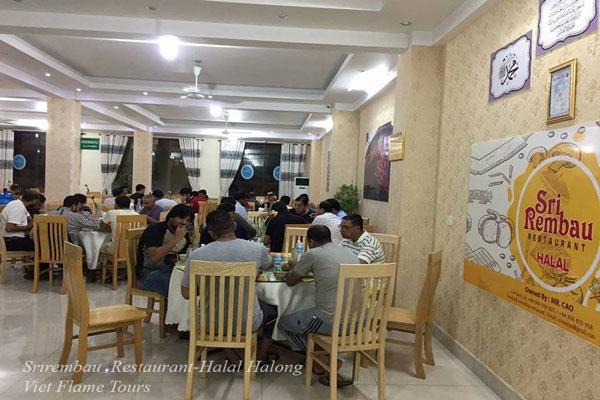Srirembau Restaurant-Halal Halong Viet Flame Tours
