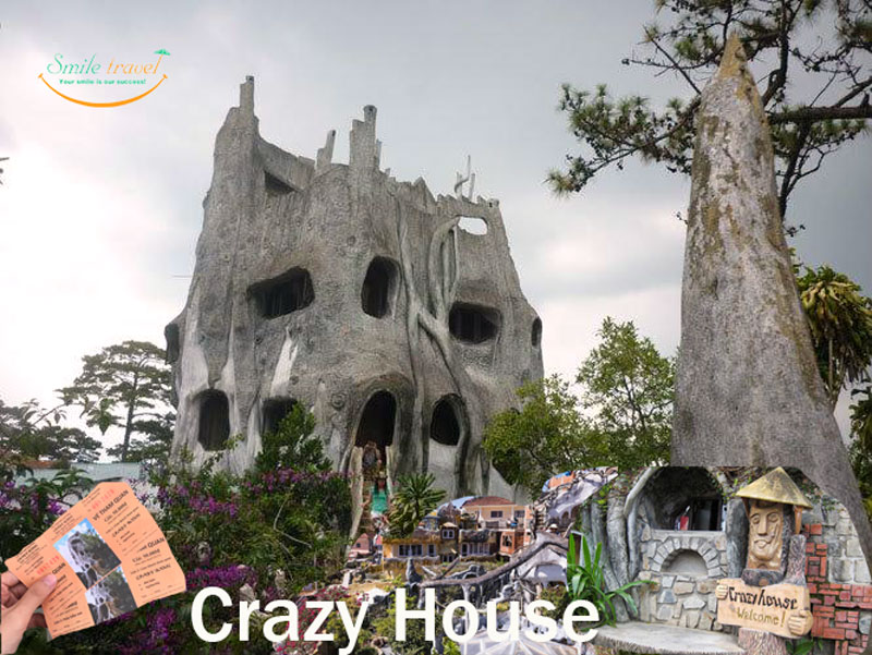 Crazy House in Dalat - Viet Flame Tours