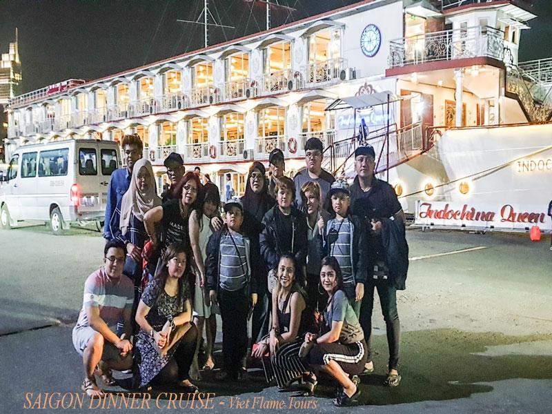 Saigon Dinner Cruise-viet Flame Tours